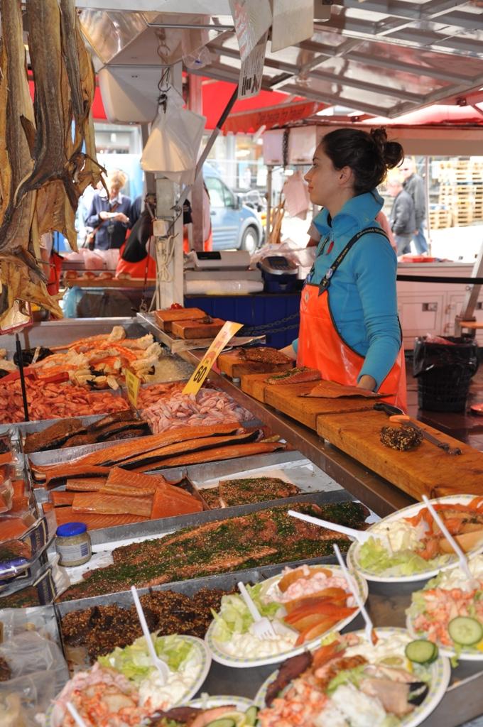 Bergeno žuvų turgus