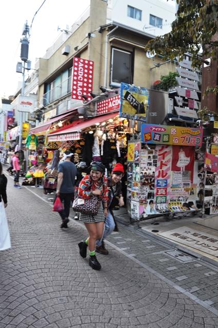Tokyo Haradjuku style